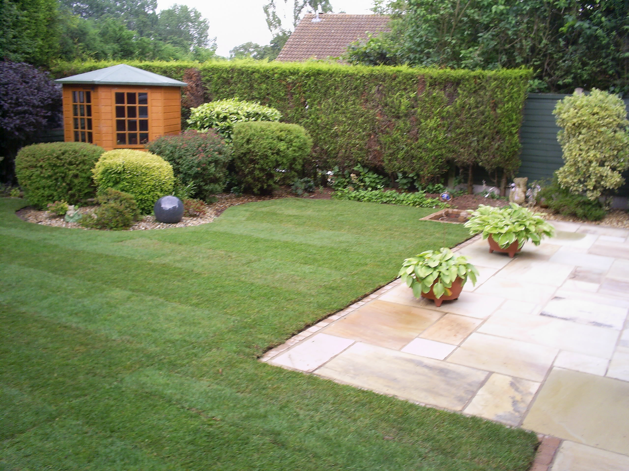 Dixons landscapes lawn and patio dixons landscapes Yard and garden